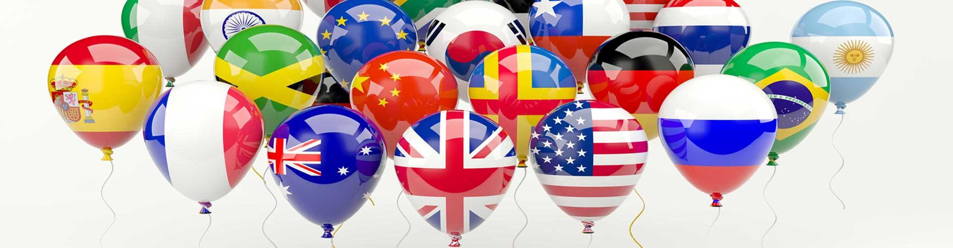 balony vlajky