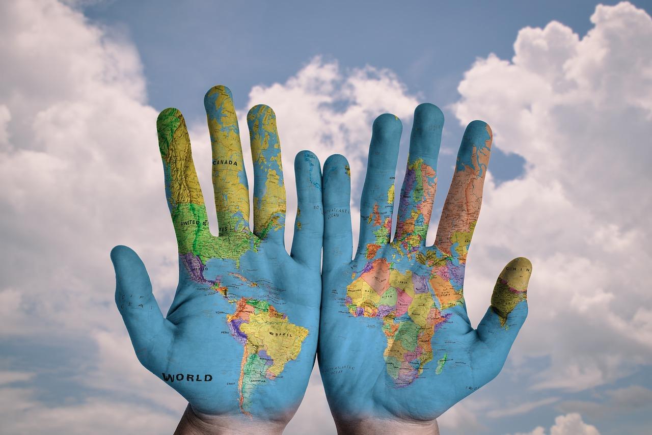 ruky svet
