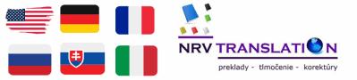 NRV Translation – Preklady – Tlmočenie – Korektúry